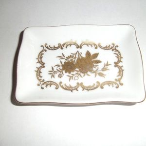 Lefton Hand Painted Small Dish or Tray Pins